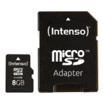 Intenso 8GB MicroSDHC memory card Class 10
