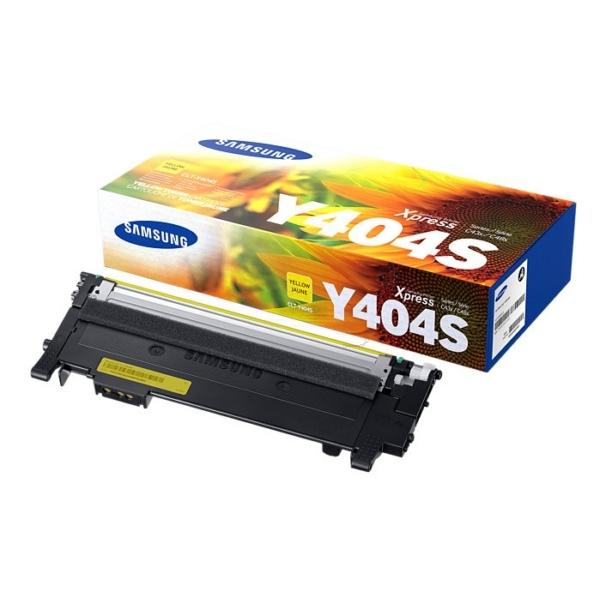 Samsung CLT-Y404S/ELS (Y404S) Toner yellow, 1000 pages
