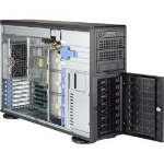 Supermicro A+ Server 4023S-TRT Socket SP3 Tower (4U) Black