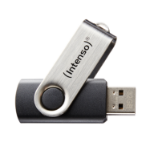 Intenso Basic Line USB flash drive 8 GB USB Type-A 2.0 Black,Silver