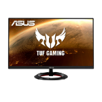 "ASUS TUF Gaming VG249Q1R 60.5 cm (23.8"") 1920 x 1080 pixels Full HD Black"