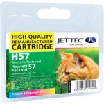 Jet Tec H57 Remanufactured Ink Cartridge - Alternative for HP (C6657AE