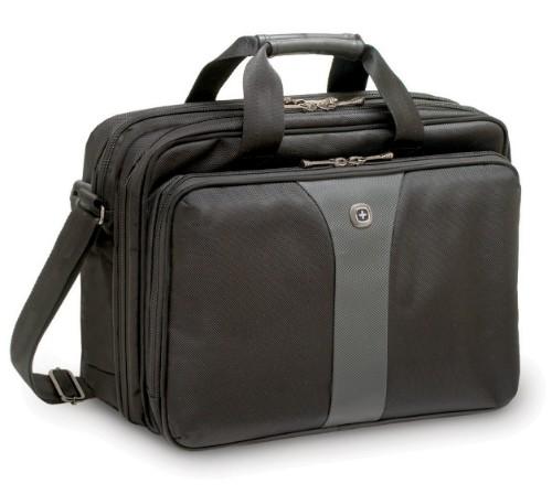 "Wenger/SwissGear Legacy 16 16"" Briefcase Black,Grey"