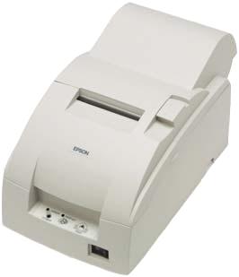TM-U220A, RS232, cutter, white
