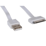 Sandberg USB 30pin Cable Flat 0.15m mobile phone cable