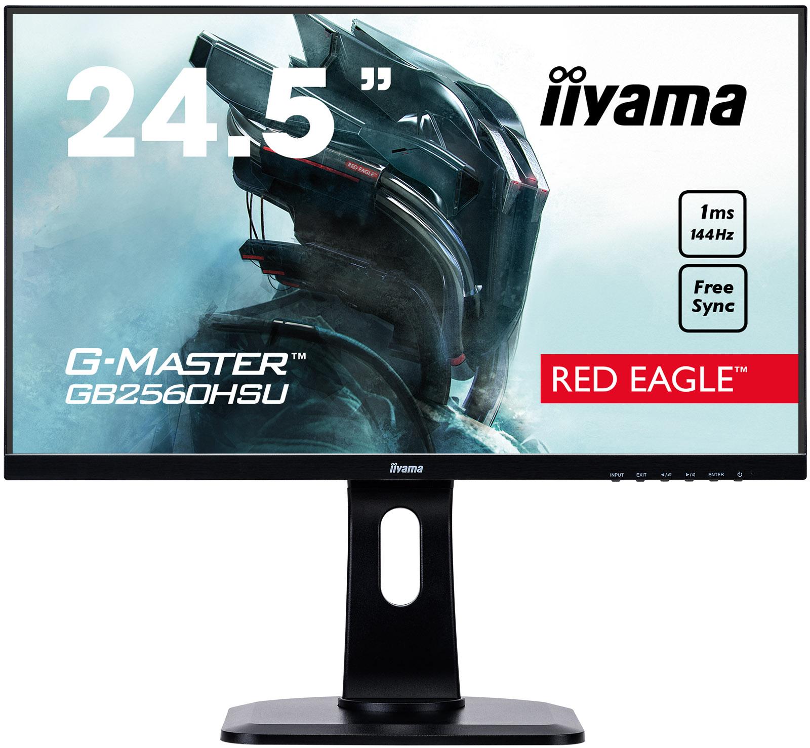 """iiyama G-Master GB2560HSU-B1 24.5"""" Black"""