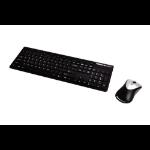 Fellowes 9893601 RF Wireless Black keyboard