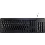 Inter-Tech K-3123 USB QWERTZ Black