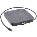 Tripp Lite U442-DOCK17-GY notebook dock/port replicator Wired USB 3.2 Gen 1 (3.1 Gen 1) Type-C Gray