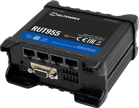 TELTONIKA RUT955 (EU) 4G LTE Router