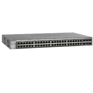 Netgear GS752TSB Gestionado L3 Gigabit Ethernet (10/100/1000) Negro
