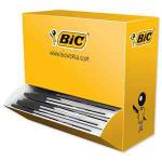 BIC Cristal Medium Black Stick ballpoint pen 100 pc(s)