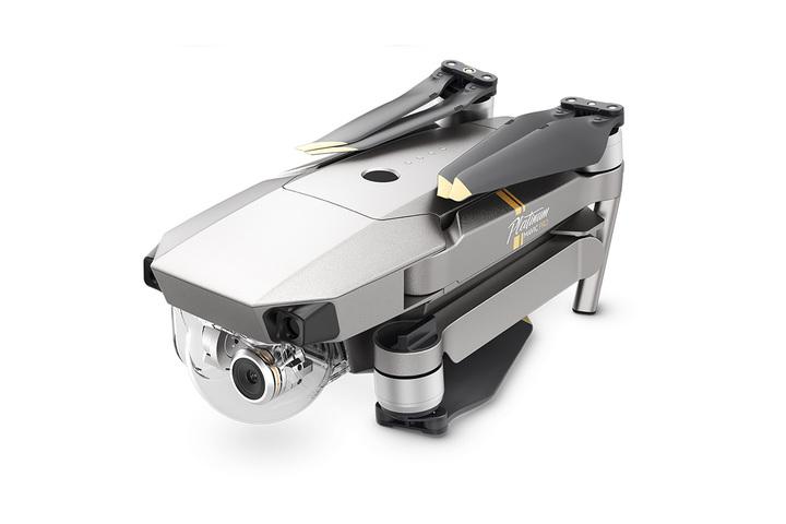 DJI Mavic Pro Platinum Fly More Combo camera-drone Quadcopter Zwart, Zilver, Roestvrijstaal 12,71 MP 4096 x 2160 Pixels 3830 mAh