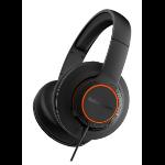 Steelseries Siberia 100 3.5 mm Binaural Head-band Black headset