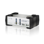 ATEN 2 Port USBKVMP Switch with audio and USB 1.1 Hub