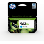 HP 3JA27AE (963XL) Ink cartridge cyan, 1.6K pages, 23ml