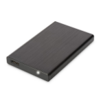 "ASSMANN Electronic 2.5"" SSD/HDD HDD/SSD enclosure 2.5"" Black"