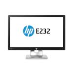 """HP EliteDisplay E232 IPS 23"""" Black Full HD Matt"""