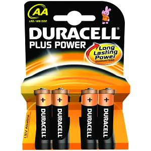 Duracell MN1500B4 household battery Single-use battery AA Alkaline 1.5 V