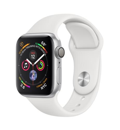 Apple Watch Series 4 smartwatch Silver OLED GPS (satellite)