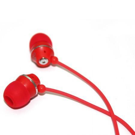 Jivo Technology Jellies Red Intraaural In-ear headphone