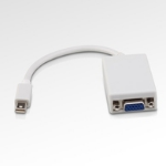Microconnect Mini Displayport-VGA (15cm) 0.15m Mini Displayport VGA (D-Sub) White