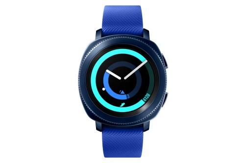 "Samsung Gear Sport 1.2"" SAMOLED GPS (satellite) Blue smartwatch"
