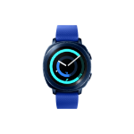 "Samsung Gear Sport 1.2"" SAMOLED GPS (satellite) Blue smartwatch"