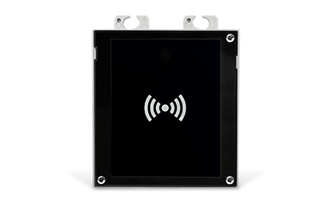 2N Telecommunications 9155040 RFID reader Black, Silver