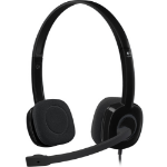 Logitech H151 Binaural Head-band Black