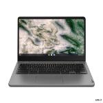 """Lenovo 14e Notebook 35.6 cm (14"""") Touchscreen Full HD AMD 3000 4 GB DDR4-SDRAM 32 GB eMMC Wi-Fi 5 (802.11ac) Chrome OS Grey"""
