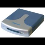 Addonics AEPUDDU USB 2.0 Silver Card Reader