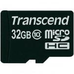 Transcend TS32GUSDC10 memory card 32 GB MicroSDHC Class 10