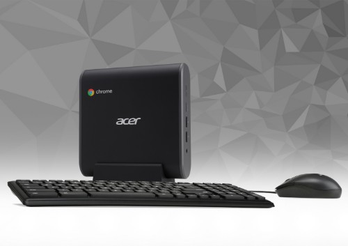 Acer Chromebox CXI3 DDR4-SDRAM i3-8130U mini PC 8th gen Intel® Core™ i3 8 GB 64 GB SSD Chrome OS Black