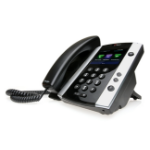 POLY 501 IP phone Black 12 lines TFT