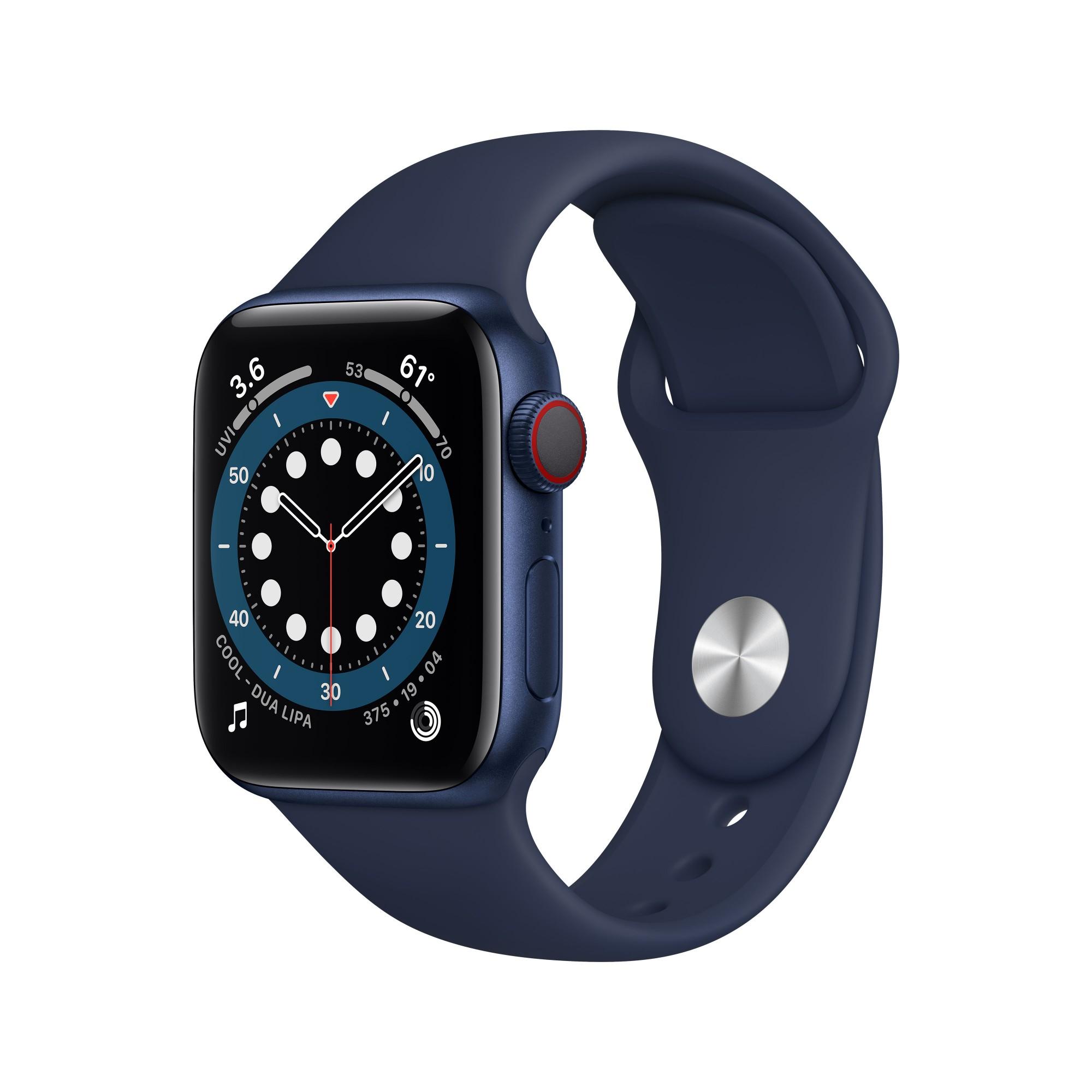 Apple Watch Series 6 40 mm OLED 4G Blue GPS (satellite)