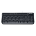 Microsoft Wired Keyboard 600 USB Alphanumeric English Black