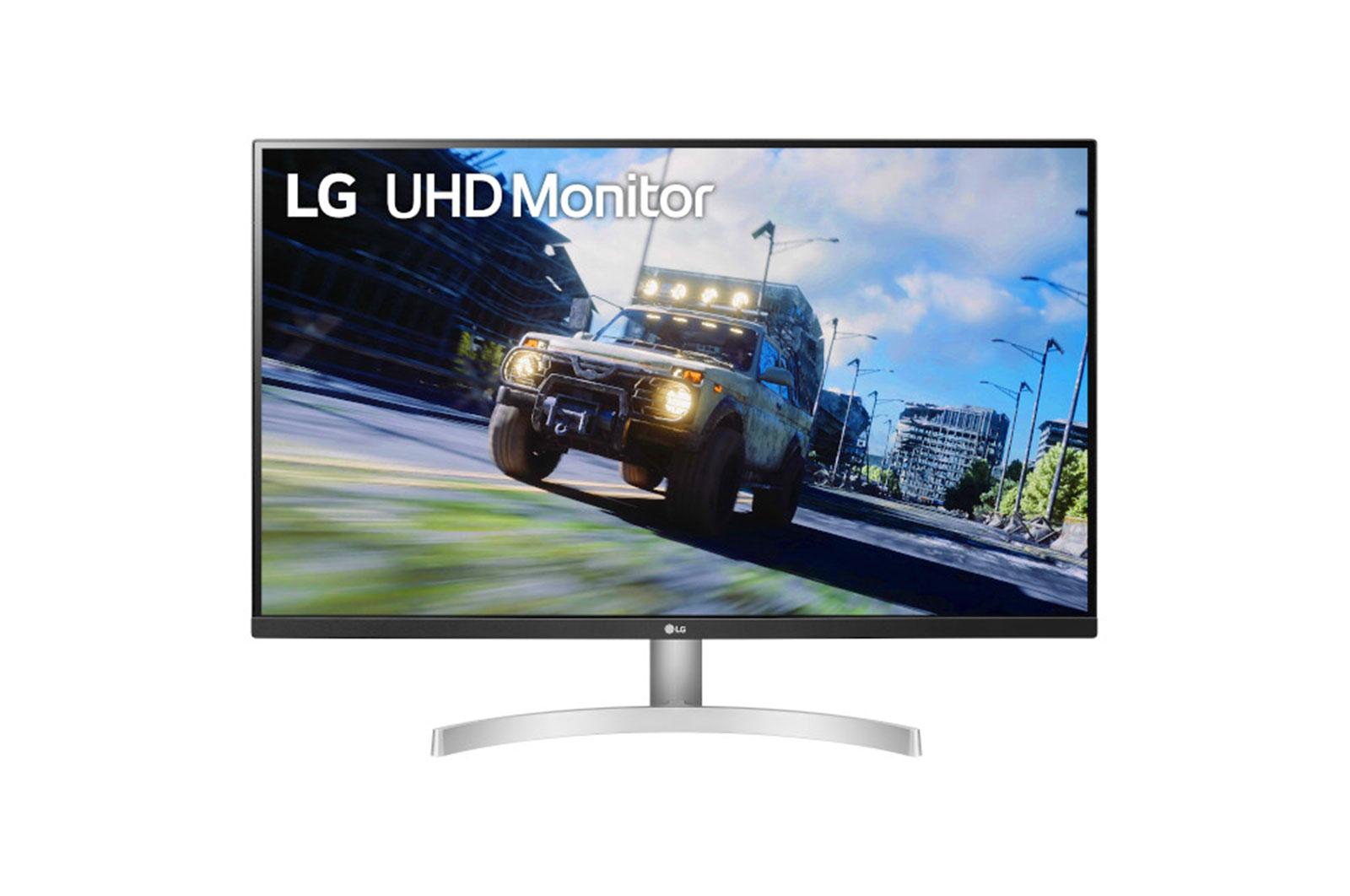 """LG 32UN500-W pantalla para PC 80 cm (31.5"""") 3840 x 2160 Pixeles 4K Ultra HD Negro, Blanco"""