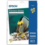 Epson Premium Glossy Photo Paper, DIN A4, 255g/m², 20 Sheets photo paper