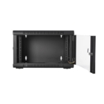 V7 RMWC6UG-1E rack cabinet 6U Wall mounted rack Black