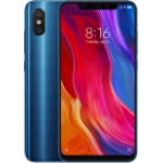 "Xiaomi Mi 8 15,8 cm (6.21"") 6 GB 128 GB SIM doble Azul 3400 mAh"