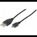 Hypertec 149692-HY USB cable 2 m USB 2.0 USB A Micro-USB B Black