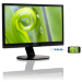 Philips Brilliance LCD monitor with SoftBlue Technology