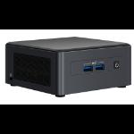 Intel NUC 11 Pro UCFF Black i5-1145G7
