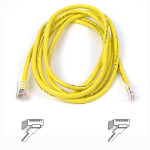 Belkin High Performance Category 6 UTP Patch Cable 1M 1m Yellow networking cable