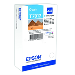Epson C13T70124010 (T7012) Ink cartridge cyan, 3.4K pages, 34ml