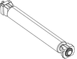 Zebra P1058930-080 printer roller