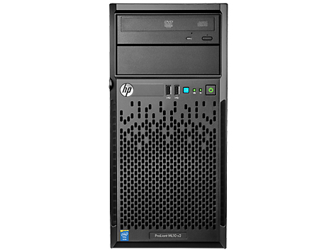Hewlett Packard Enterprise ProLiant ML10 v2 E3-1220v3 8GB-U B120i 4LFF 1x1TB NHP ODD 350W PS Server/TV 3.1GHz E3-1220V3 350W Tower (4U) server