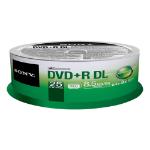 Sony DVD+R DL, 25 8.5GB DVD+R DL 25pcs