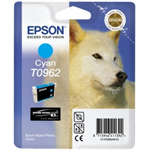 Epson C13T09624010 (T0962) Ink cartridge cyan, 1.51K pages, 11ml